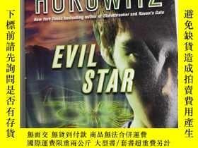 二手書博民逛書店Evil罕見Star Anthony Horowitz 邪惡之星 安東尼·霍洛維茨著 英文版 庫存 小說Y25