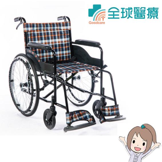 【均佳】機械式輪椅 (未滅菌) 鐵製 JW-001