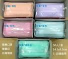 兒童醫療口罩 5-10歲 (台灣製造/雙鋼印/兒童素色三層防護醫用平面口罩/50入)