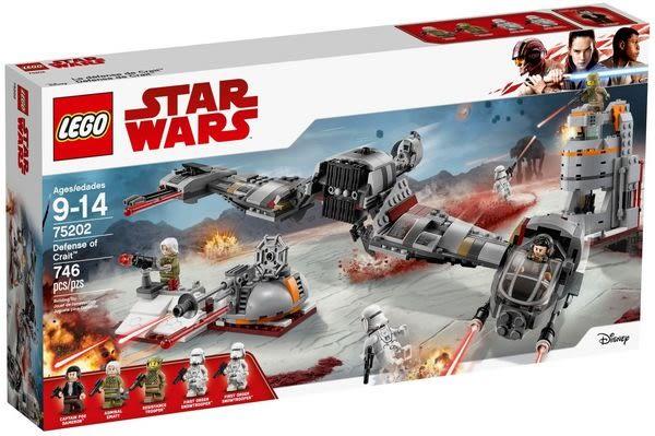樂高LEGO STAR WARS Crait 星球防衛戰 75202 TOYeGO 玩具e哥
