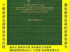 二手書博民逛書店Molecular罕見Population Genetics And EvolutionY256260 Mas