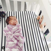 嬰兒包巾新生兒紗布襁褓夏季蓋毯 免運快速出貨