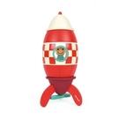 【法國Janod】磁性拼裝積木-火箭(中) J05214 /組