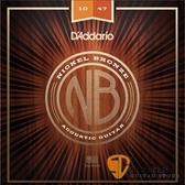 DAddario NB1047 鎳銅民謠吉他弦 (10-47)【吉他弦專賣店/進口弦/NB-1047/DAddario】