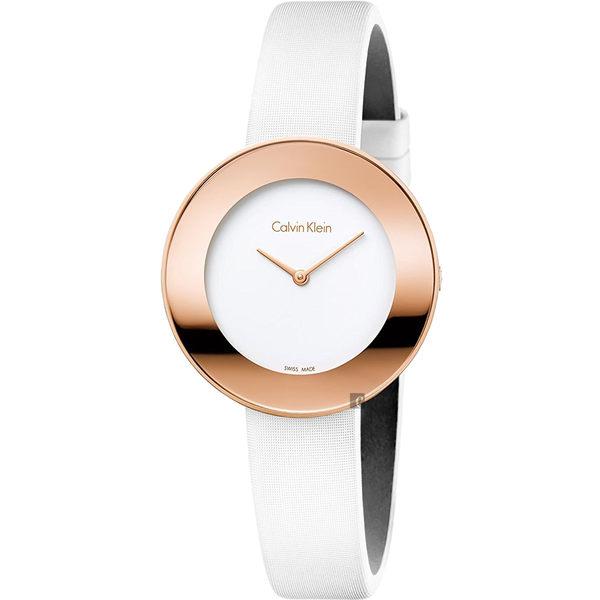 Calvin Klein CK Chic 優雅時尚手錶-玫瑰金框/38mm K7N236K2