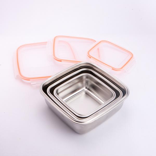 【黑五最後倒數】鮮廚煮義不鏽鋼304正方保鮮盒750ml-生活工場