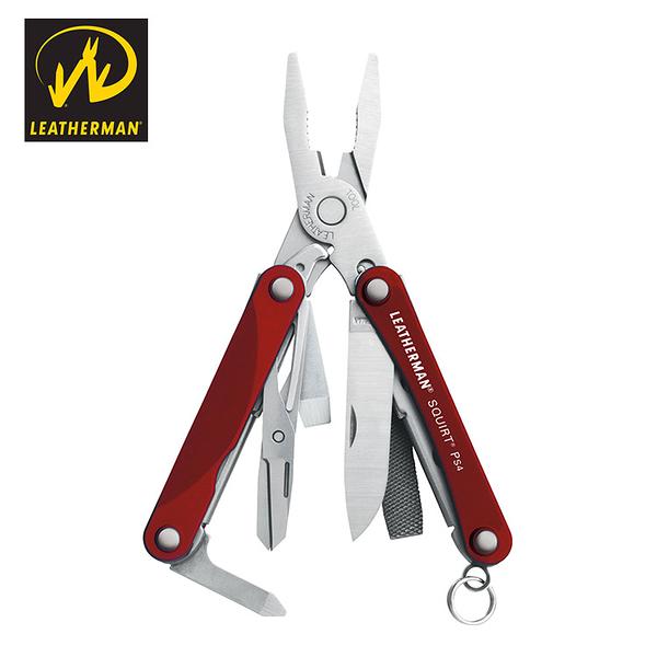 LEATHERMAN Squirt ps4工具鉗 LE831228、LE831231、LE831234 / 城市綠洲 (黑手、多功能、修理修繕)