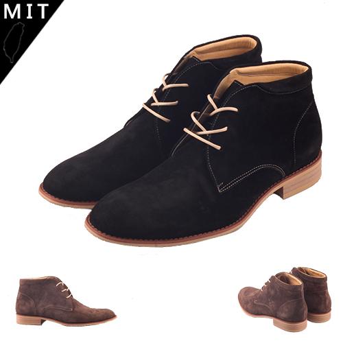 MIT英倫紳士手工尖頭牛津皮鞋 短筒皮靴 59鞋廊