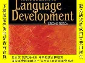 二手書博民逛書店Introduction罕見To Language Development-語言發展概論Y436638 Sco