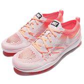 【五折特賣】Nike 訓練鞋 Wmns Free TR Focus Flyknit 粉 橘 白 運動鞋 女鞋【PUMP306】 844817-500
