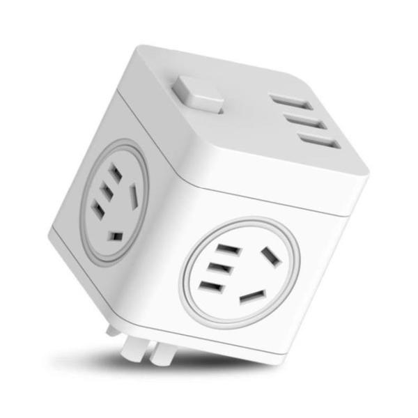 多頭電腦宿舍扦座接口插座器插座多功能會議桌充電電排方形插線功