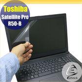 【Ezstick】TOSHIBA R50-B 專用 靜電式筆電LCD液晶螢幕貼 (可選鏡面或霧面)