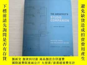 二手書博民逛書店THE罕見ARCHITECT S STUDIO COMPANIO