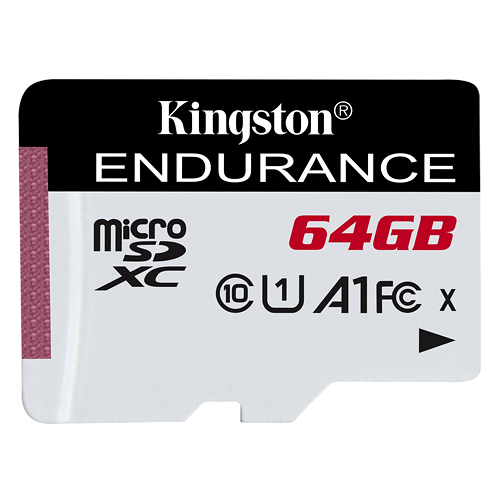Kingston 金士頓 High Endurance microSDXC C10 (U1) (A1) 64GB 高效耐用記憶卡 (SDCE/64GB)