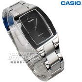 CASIO卡西歐 MTP-1165A-1C2 羅馬都會城市 不銹鋼錶帶 簡約黑色 女錶 酒桶形 方形 MTP-1165A-1C2DF