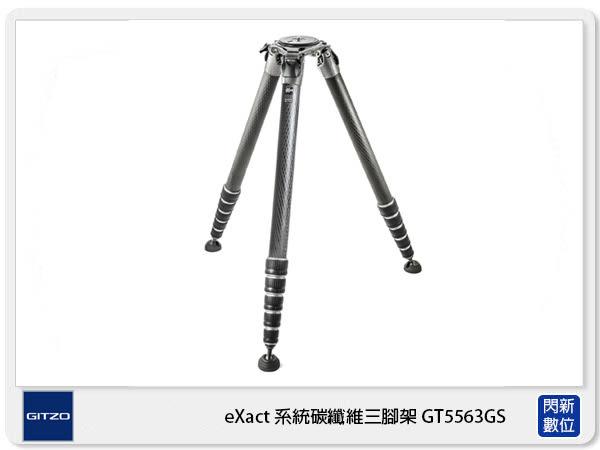 【分期零利率】Gitzo eXact Systematic GT5563GS 系統碳纖維 三腳架 5號腳 (公司貨)