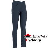 EasyMain 衣力美 RE16054-78深灰藍  女 彈性防風保暖休閒褲