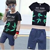 童裝男童夏裝兒童套裝2020新款帥氣運動短袖韓版中大童潮小孩衣服 童趣屋