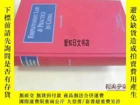 二手書博民逛書店【罕見】Employment Law & Practice 20