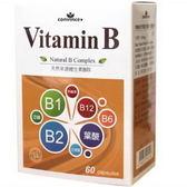 萊樂美天然維生素B群膠囊60粒(素食可)【德芳保健藥妝】
