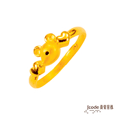 J'code真愛密碼 防小人-鼠黃金尾戒