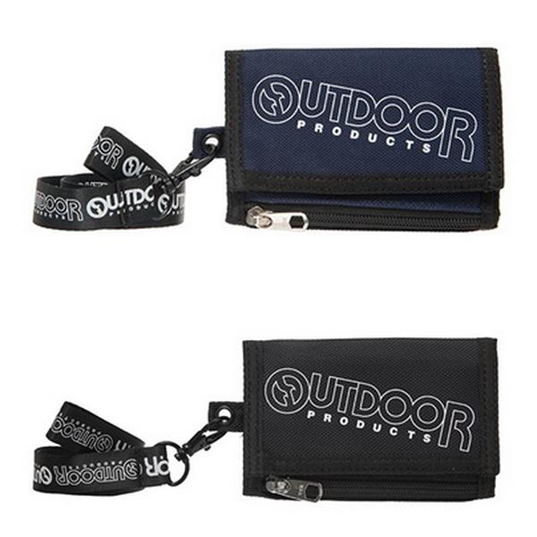 OUTDOOR - 運動.旅遊-短夾-2色 ODS18L01