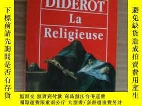 二手書博民逛書店法文原版罕見狄德羅 《修女》 La Religieuse von