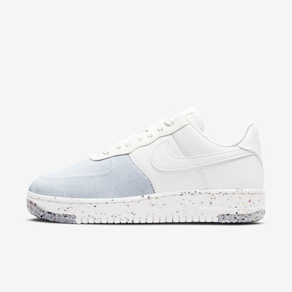 Nike W Air Force 1 Crater [CT1986-100] 女鞋 運動 休閒 支撐 情侶 穿搭 白藍