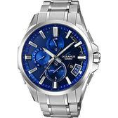 【台南 時代鐘錶 CASIO】卡西歐 OCEANUS 宏崑公司貨 OCW-G2000-2A 電波鈦金屬藍牙連動智慧型腕錶