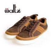 Waltz-磨砂皮舒適休閒板鞋622104-23(咖)