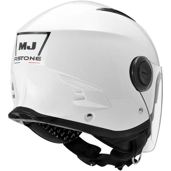 ASTONE安全帽,MJ 617,素色/白