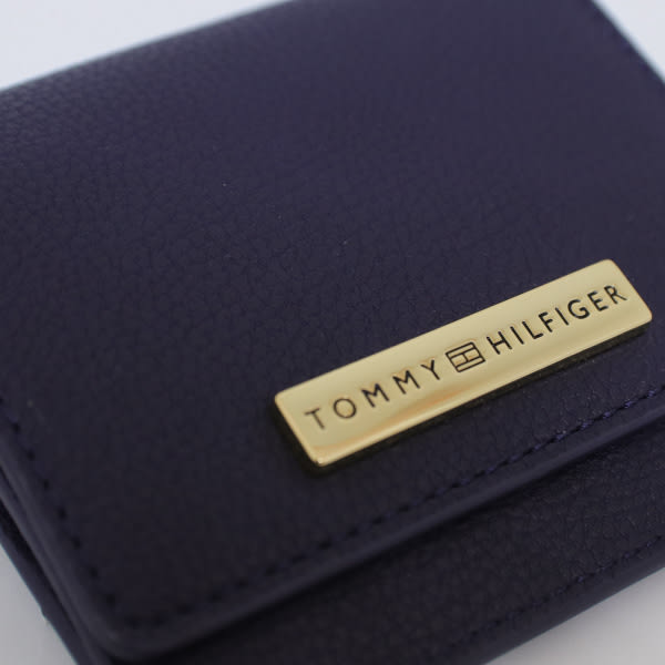 【蟹老闆】Tommy Hilfiger 零錢包 深藍