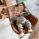 男童吊帶褲秋嬰兒寶寶可愛洋氣秋款韓版男一歲小童純棉兒童褲子 【雙十二狂歡】