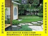 二手書博民逛書店The罕見Illustrated Encyclopedia Of Japanese GardeningY256