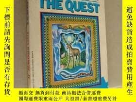 二手書博民逛書店THE罕見QUEST:one man s search for the peace,insight,and hea