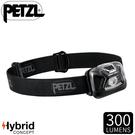 【PETZL 法國 TACTIKKA頭燈《黑》】E093HA01/300流明/頭燈/登山露營/手電筒/緊急照明