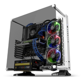 Thermaltake 曜越  Core P3 壁掛式強化玻璃白色 (CA-1G4-00M6WN-05) ATX電腦機殼