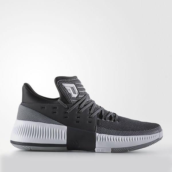 sale retailer 7bd3b 9c647 Adidas D Lillard 3  BY3207  男鞋運動藍球避震黑白愛
