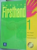 【書寶二手書T2/語言學習_QHT】English Firsthand 1 (Student Book with Aud
