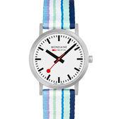 MONDAINE 瑞士國鐵 Classic系列腕錶 – 30mm / 藍 65816BP