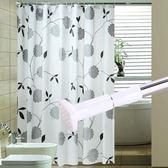 浴室浴簾布加厚防水防霉浴簾門簾掛簾