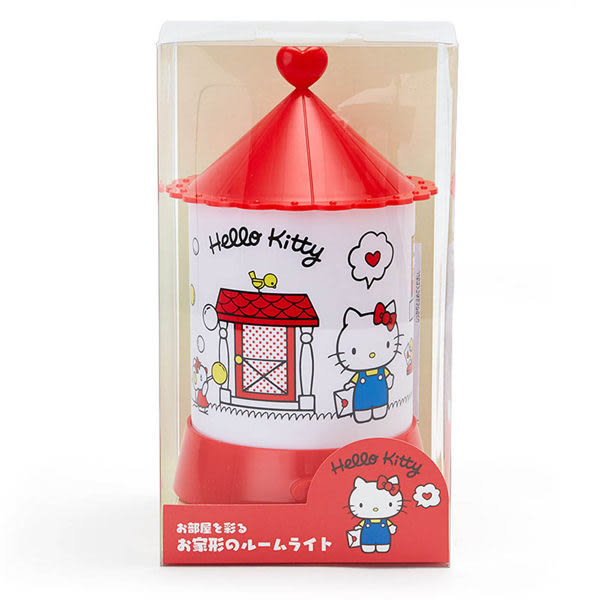 【震撼精品百貨】Hello Kitty 凱蒂貓~HELLO KITTY可愛房屋造型室內擺飾燈(甜蜜的家)