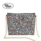 【原廠授權】泰國Bliss BKK包 深藍花柄 側背包 4款背帶可選 現貨供應中