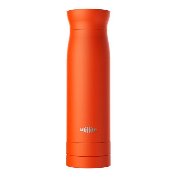 utillife Grab-n-Go 收納夾層保溫杯/太空黑/420ml【utillife】
