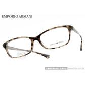 EMPORIO ARMANI 光學眼鏡 EA3031F 5234 (琥珀) 簡約質感經典款 平光鏡框 # 金橘眼鏡