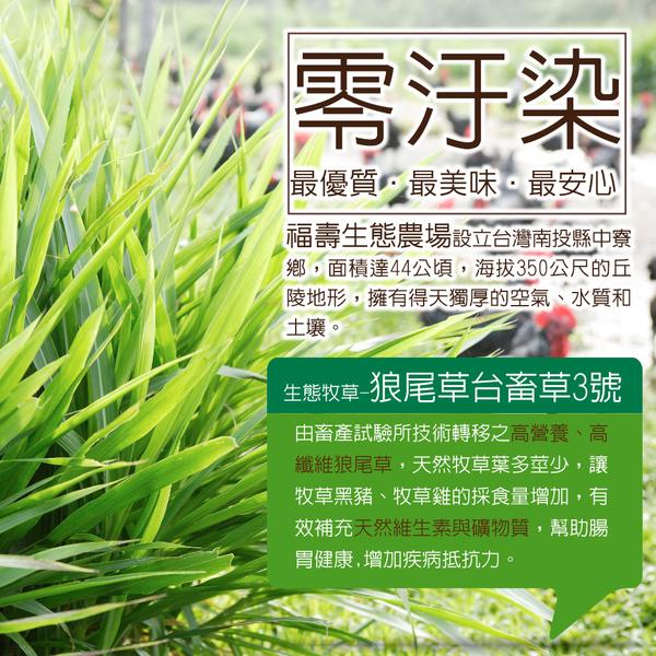 【國產豬】福壽生態牧草豬-台式香腸300g