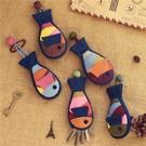 女卡通貓咪小掛件公仔迷你可愛汽車鑰匙扣布藝抽拉繩式鑰匙包通用 黛尼時尚精品