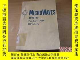 二手書博民逛書店1978-79罕見Product Data Directory