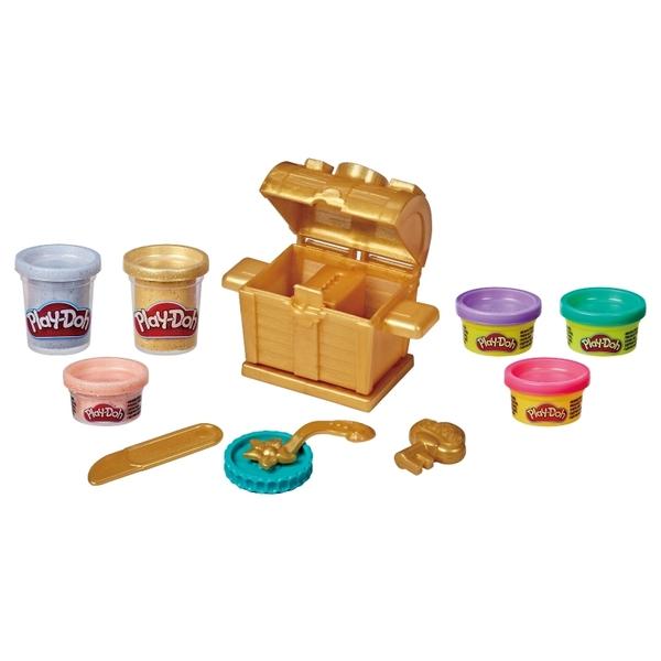 培樂多黏土Play-Doh 閃亮藏寶箱