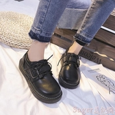 娃娃鞋日系軟妹ins小皮鞋女英倫學院風復古森系大頭娃娃鞋2020新款單鞋 交換禮物